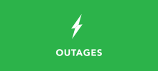 outages button green